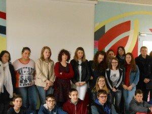 Rachel Corenblit et les élèves de Notre Dame