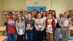 Les élèves lecteurs.